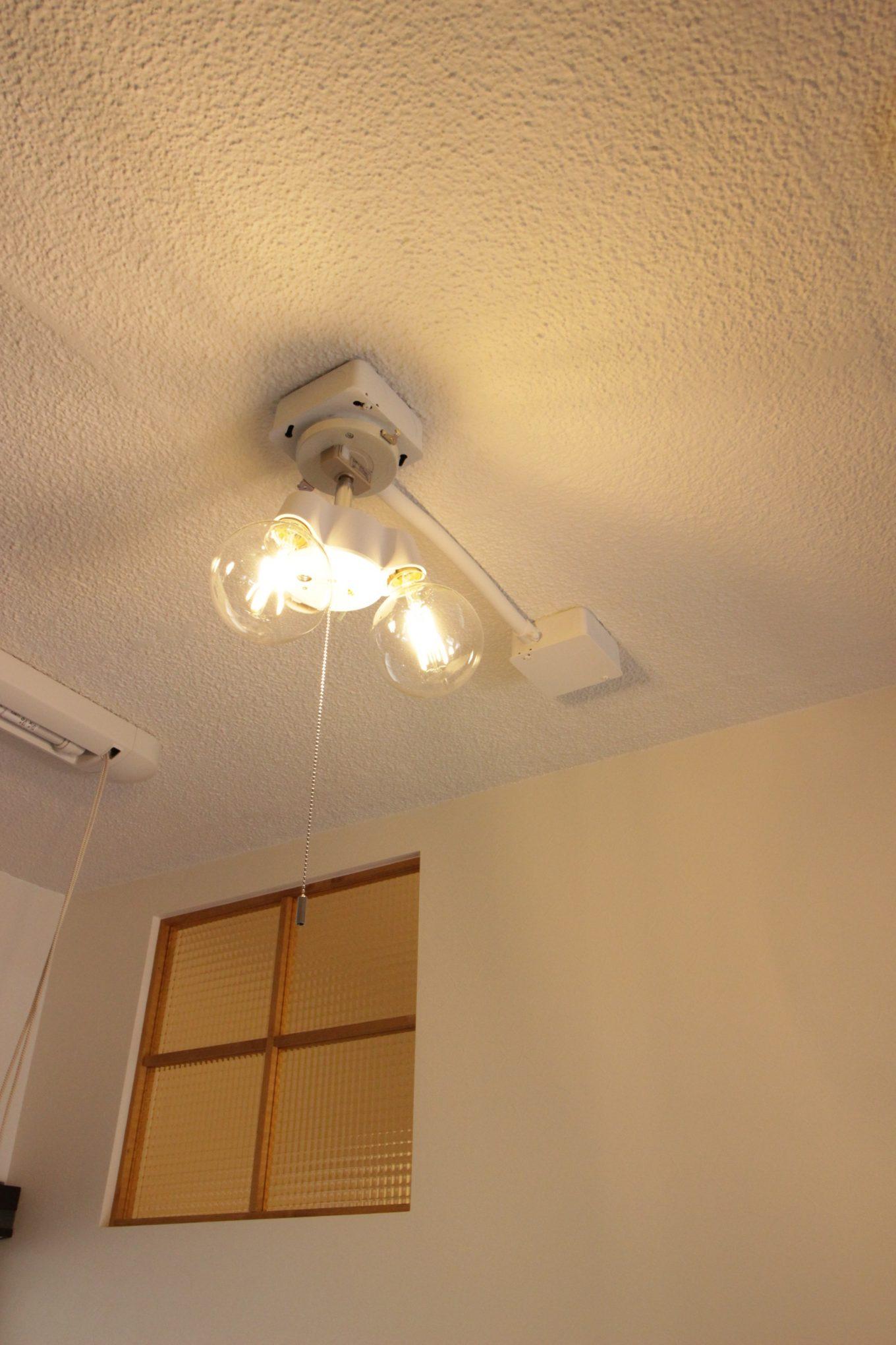 照明で雰囲気が大きく変わるリノベーション