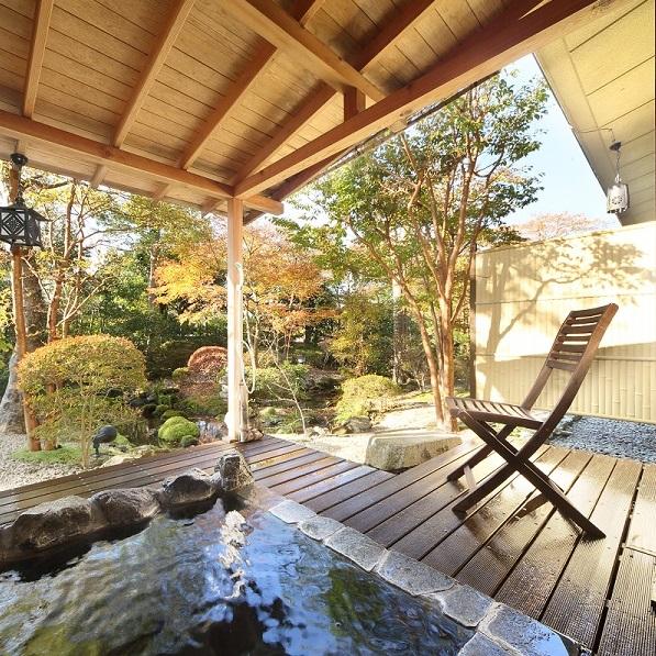 親族だけの箱根旅館ウェディング・露天風呂付客室