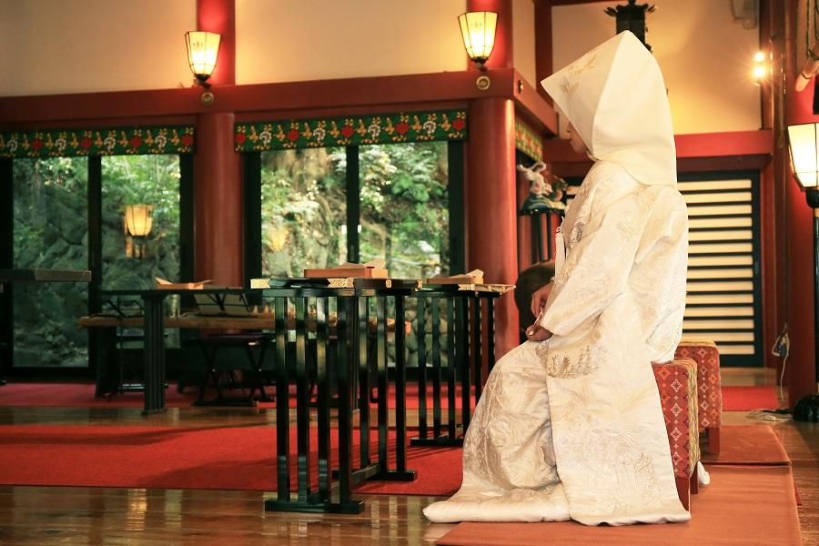 来宮神社挙式とあたみ石亭宿泊付きウェディングプラン