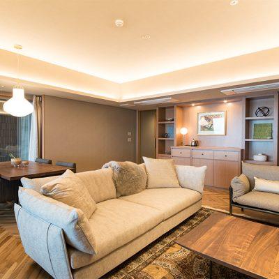 熱海旅行宿泊ウェディング・ホテルの洋室の様子