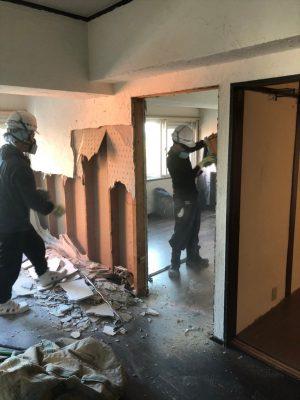 築古マンションの間取り解体|横浜リノベーション