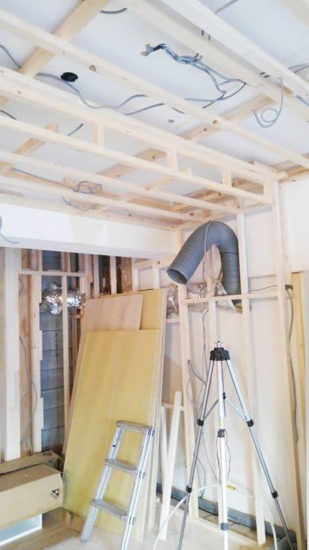キッチンの位置変更の基礎 ウェディングリノベーション
